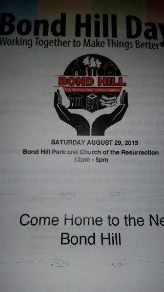 Bond Hill Day, 08-29-2015 IHU